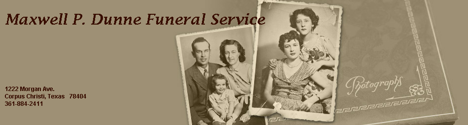 Maxwell P. Dunne Funeral Service